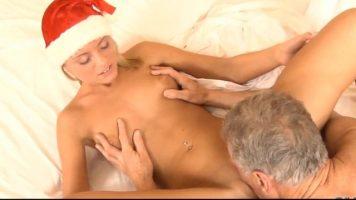 عيد الميلاد ممارسة الجنس مع سانتا في نهاية العطلات